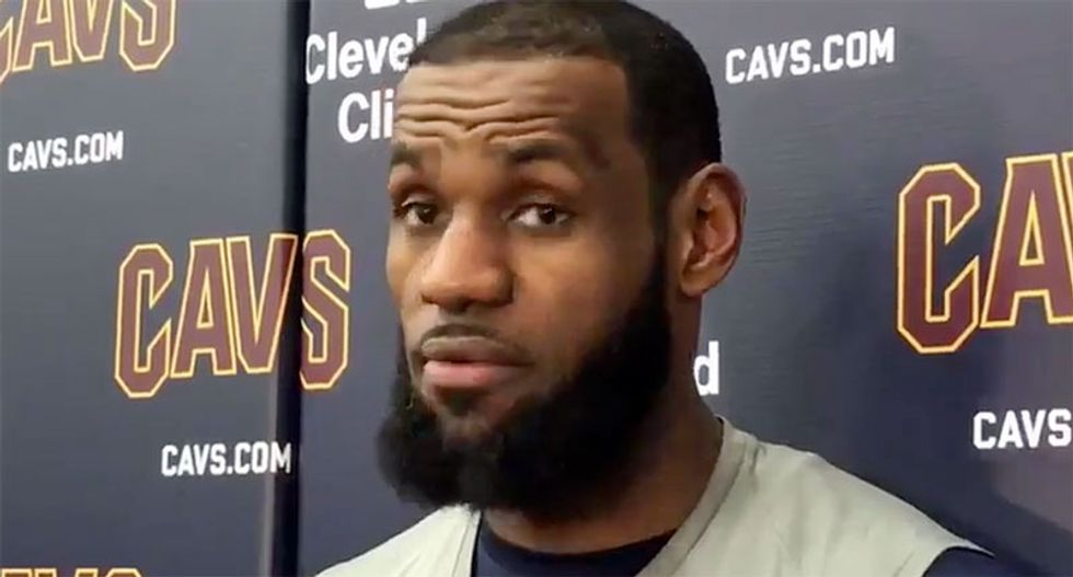 'It is bigger than me': LeBron James fires back at Laura Ingraham -- except he doesn't even know her name