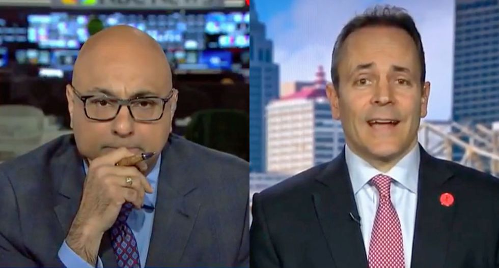 MSNBC host Velshi dumbfounded as Tea Party governor claims health insurance make people unhealthy
