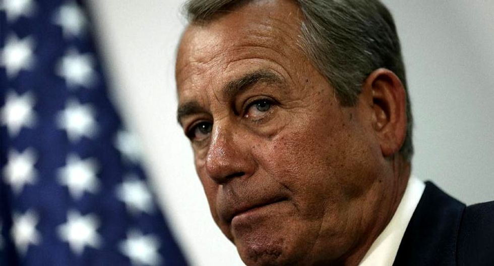 Republicans rally for the Keystone pipeline as bill heads to Obama's desk