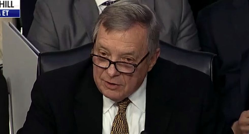 Watch Dick Durbin corner a squirming DHS secretary for 'not remembering' Trump's racist 'sh*thole' remarks