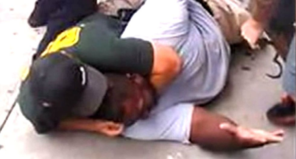 #FirePantaleo: Demands for justice as NYPD officer who used fatal chokehold on Eric Garner gets suspension