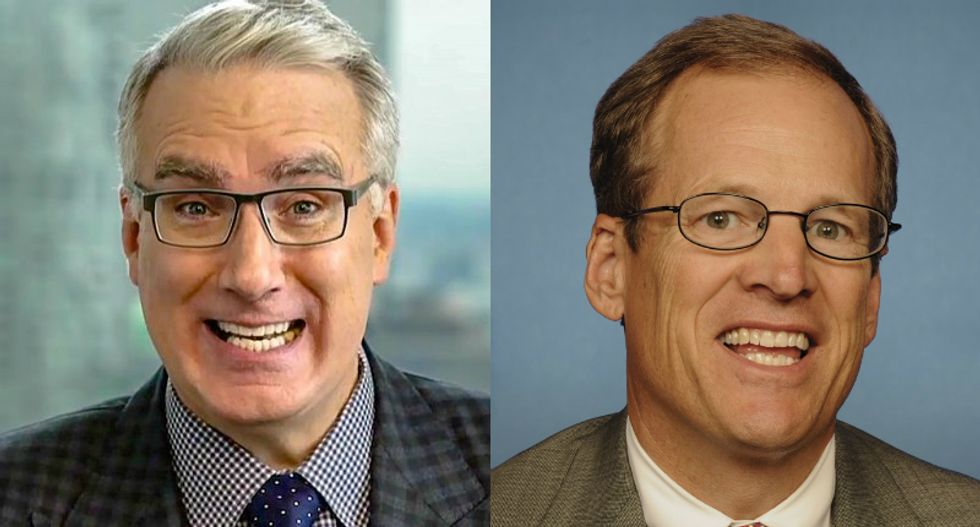 'How do you find your way home each night?' Olbermann prods Jack Kingston for 'voter integrity' shilling