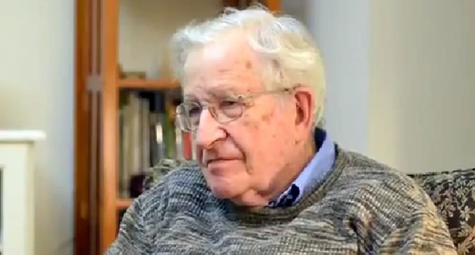 Noam Chomsky: Republicans 'dedicated with utter servility' to the needs of the 1 percent
