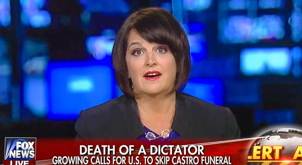 Fox pundit: Obama must send surgeon general to Cuba 'just to make sure Fidel Castro is really dead'
