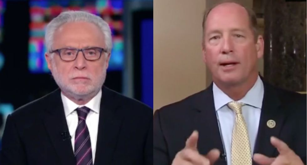 CNN's Wolf Blitzer dismantles GOP Congressman who says Mueller investigation 'really needs to go away'