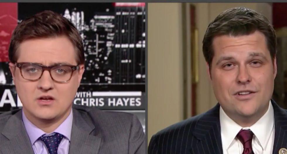 Florida Republican stuns MSNBC's Chris Hayes by calling 'disgusting' Haiti 'all sheetmetal and garbage'