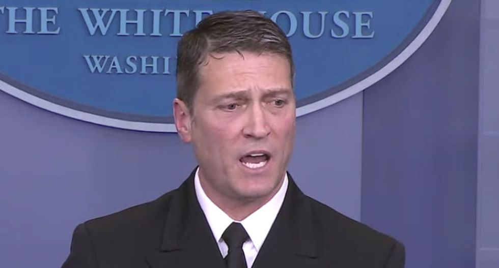 Obama aides shocked by Ronny Jackson's embrace of Trump's 'baseless conspiracy theories': report