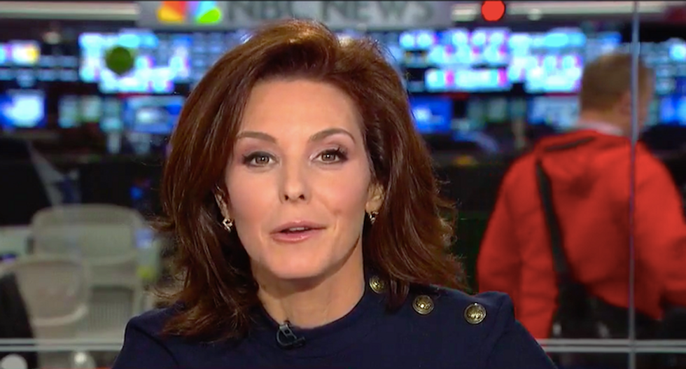 WATCH: Stephanie Ruhle mocks Eric Trump for accidentally calling his father 'naive or simple'