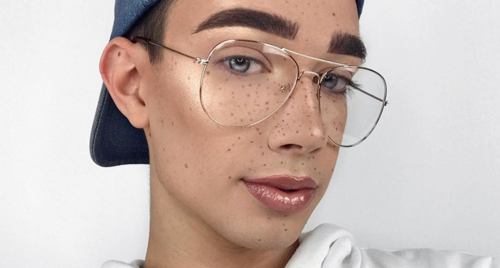 Homeschool mom crushed by 'moral dilemma' after son sees male CoverGirl wearing makeup