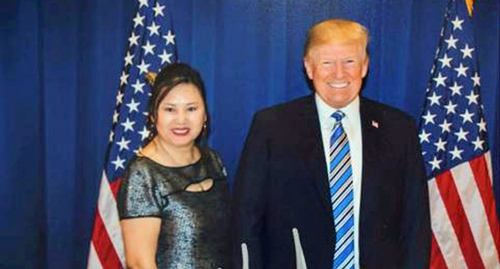 Did Cindy Yang funnel Chinese cash into Donald Trump's 2020 campaign?
