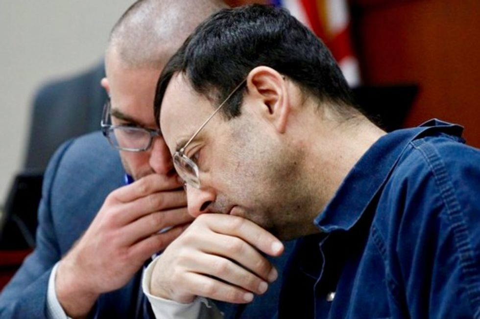 Michigan revokes Olympic doctor Nassar's medical license, issues record fine