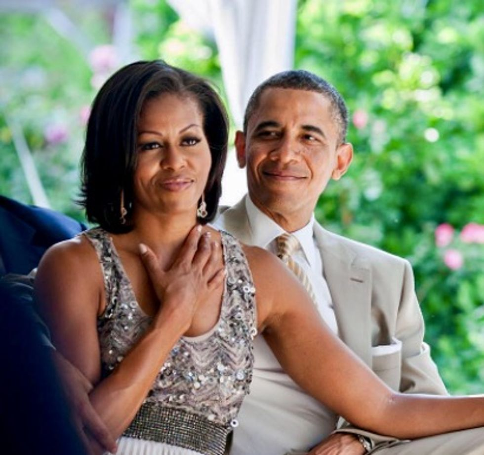 See the sweet gift and message Barack Obama gave Michelle on her 54th birthday