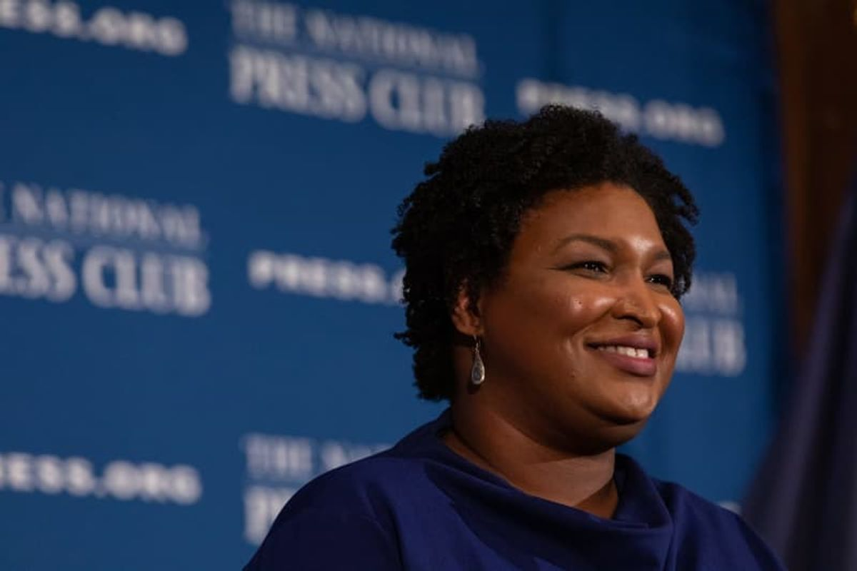 Stacey Abrams argues that accountability for Capitol insurrection isn't enough