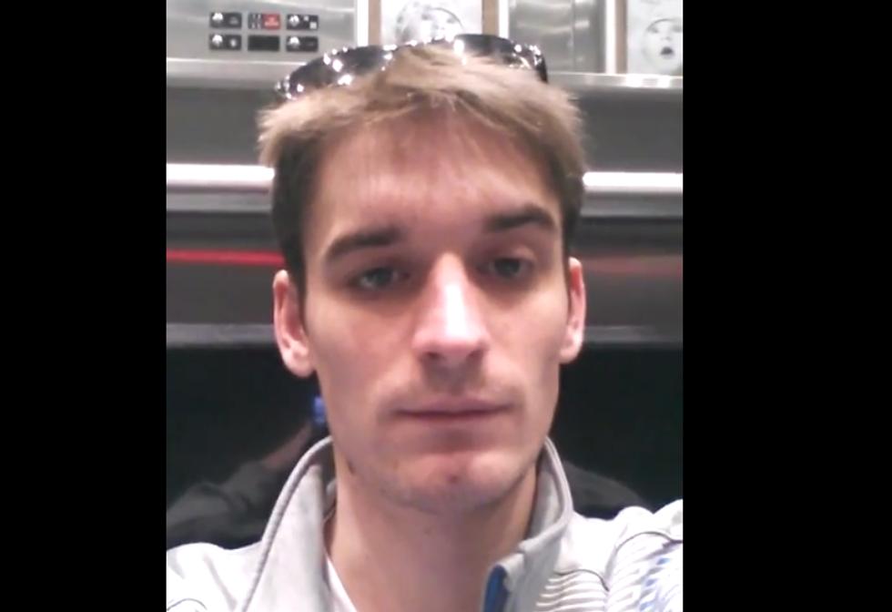 WATCH: Swearing, volatile jerk makes broken elevator wait a living nightmare