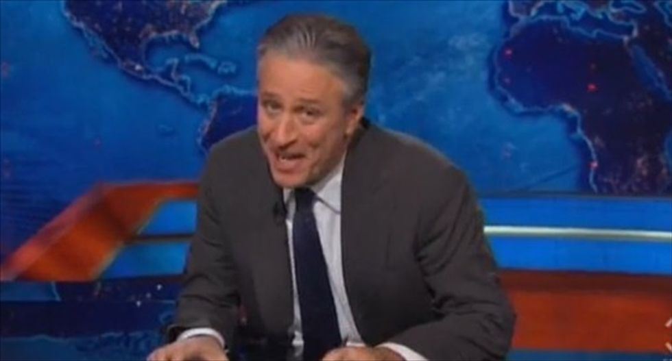 Jon Stewart mocks Andrea Tantaro's 'awesome' rant: 'The most ridiculous thing I have ever heard'