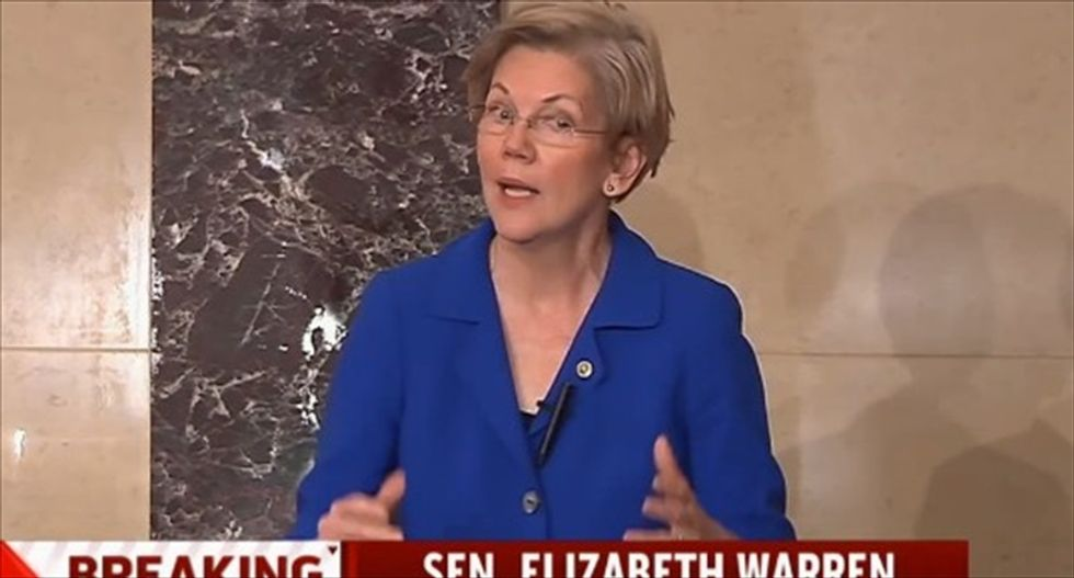 Warren slams for-profit schools that produce 'astronomical debt levels and terrible outcomes for students'