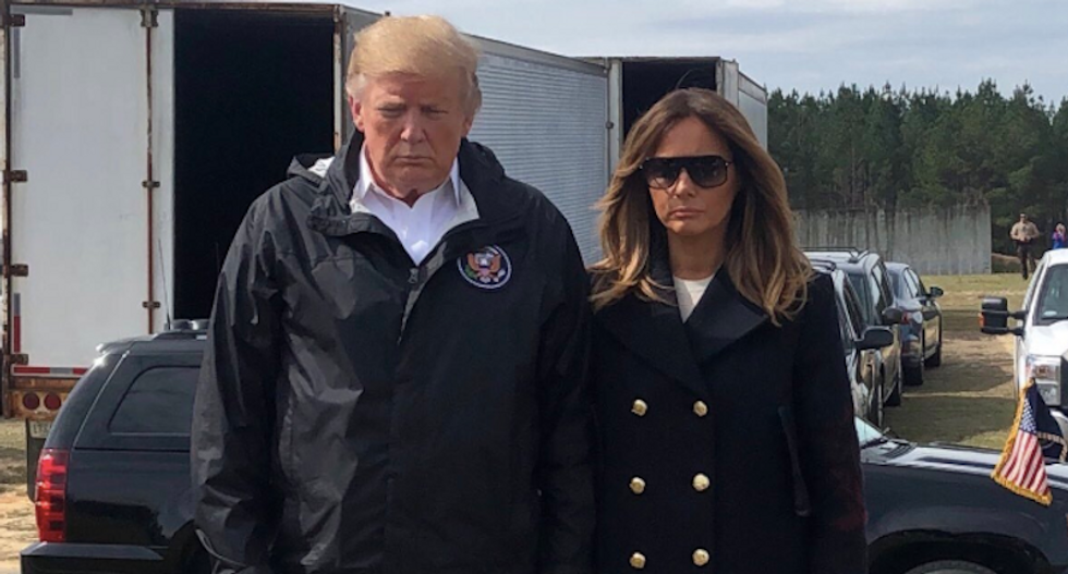 Trump trolled for praising Melania as the new 'Jackie O' -- and then calling her 'it'