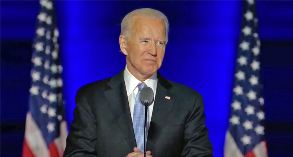 President-elect Biden: Trump's refusal to admit defeat 'more embarrassing for the country than debilitating'