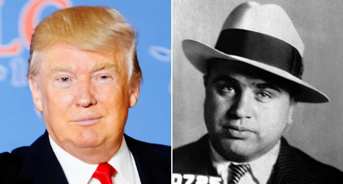 'Al Capone cheated on his taxes': Legal expert connects Trump's purported tax cheating and his history with mobsters