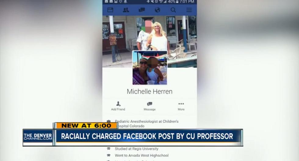 Denver doc 'feels better' after Facebook rant against Michelle Obama's 'monkey face and poor ebonics'