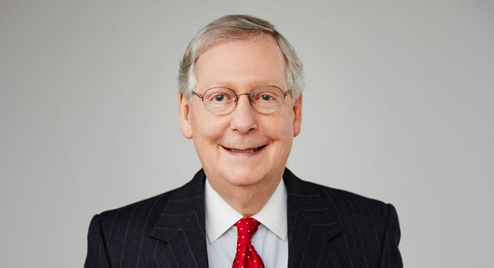 Democrats urged to 'oppose this takeover' as McConnell rushes to confirm 19 right-wing judges before recess