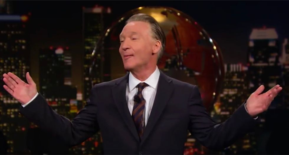 Bill Maher brutally pounds Trump for 'tighty-whitey' chasing a porn star right after his wife gave birth