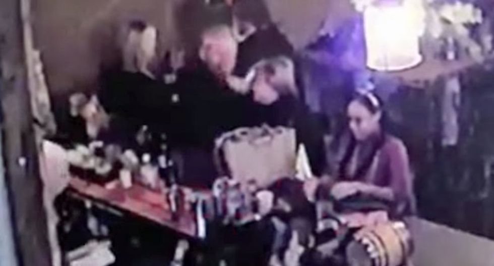 Louisiana cop allowed to retire with no charges filed after video catches him beating his wife in bar