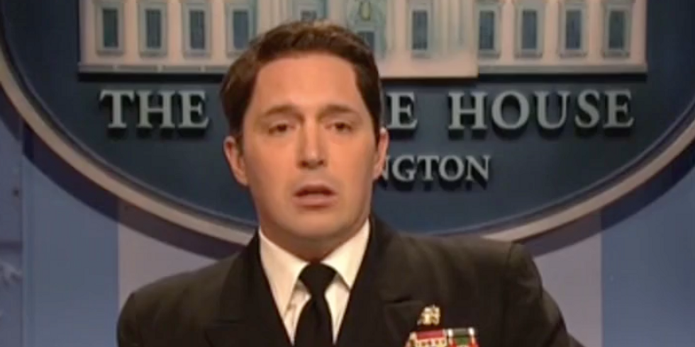 'How broke that brain?': SNL lampoons Trump's physical exam in hilarious 'press conference'