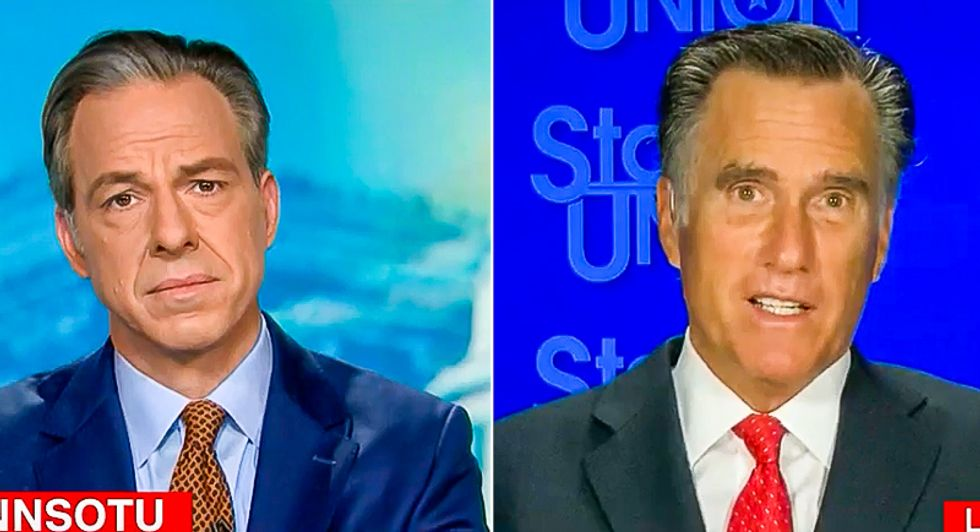 Mitt Romney slams Trump's voter fraud claims: 'He has a relatively relaxed relationship with the truth'