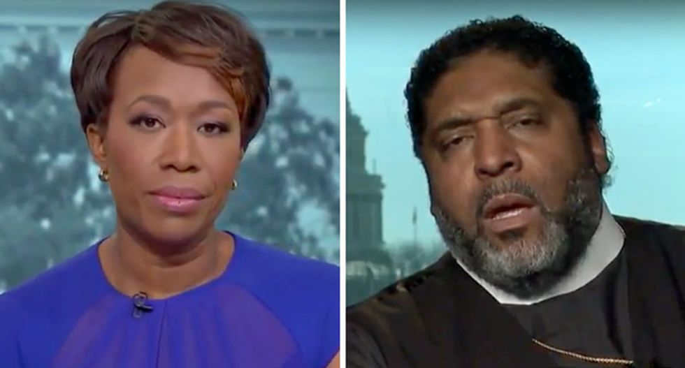 'Cash before Christ': Bishop William Barber accuses Franklin Graham of being 'bought off' to defend Trump