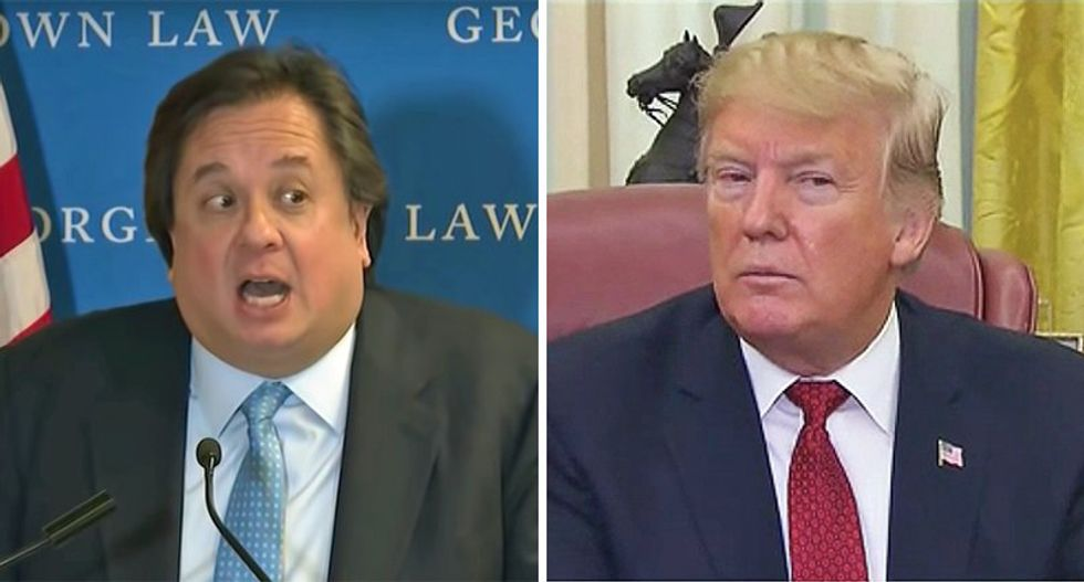 George Conway pens scathing op-ed comparing Trump to 'cancer' Nixon: 'Congress should remove him'