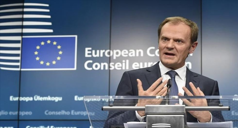 US strikes in Syria show resolve against chemical attacks: EU's Donald Tusk