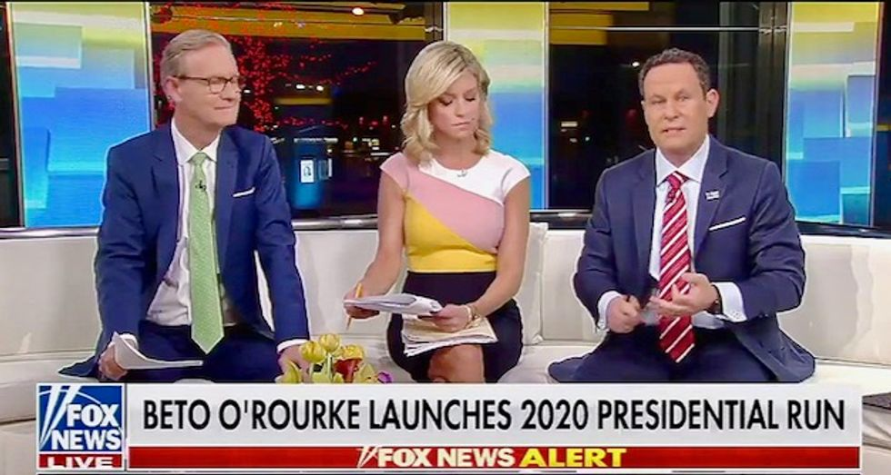 'Fox & Friends' try to knock down Beto O'Rourke: 'As if it's a big plus that he reads books'