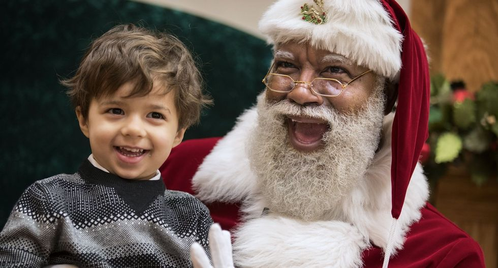 Tell a different story about Santa this holiday season