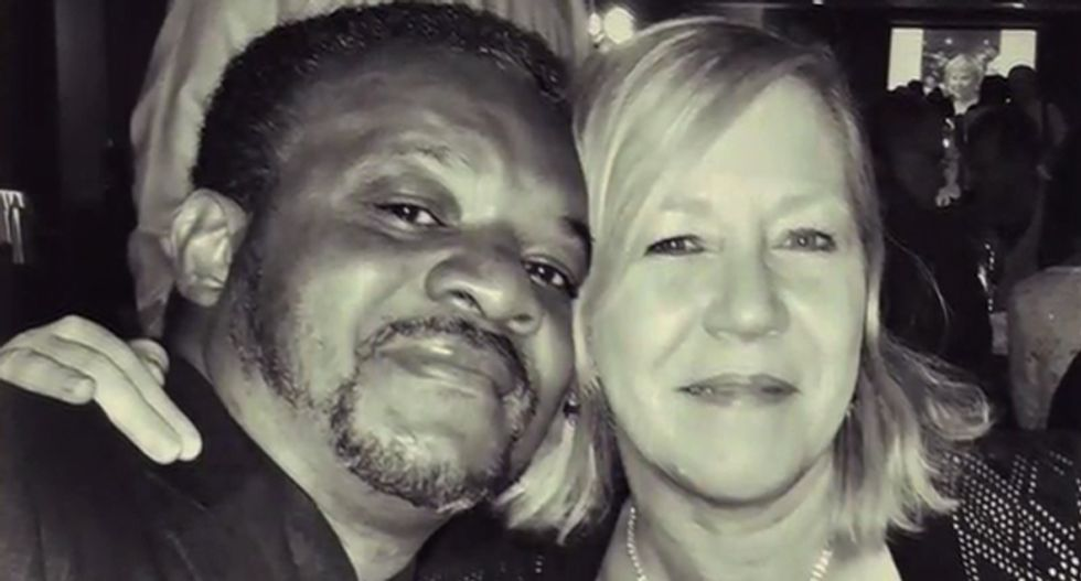 Ohio interracial couple's home trashed with swastikas and 'white power' slogans painted on it