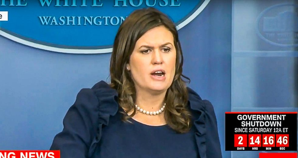 WATCH LIVE: Sarah Huckabee Sanders holds White House press briefing