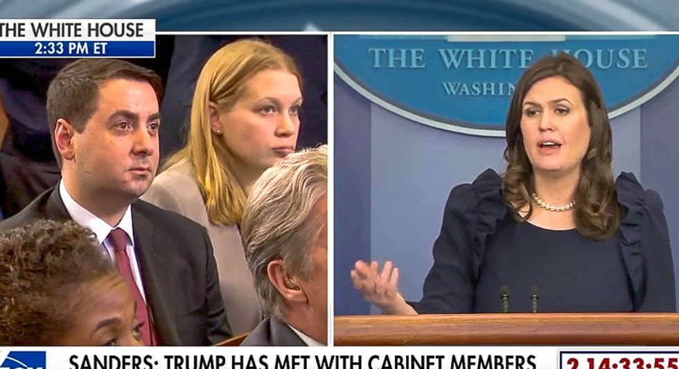 Sarah Sanders insists Trump didn't 'sit on the sidelines': 'What the president did clearly worked'