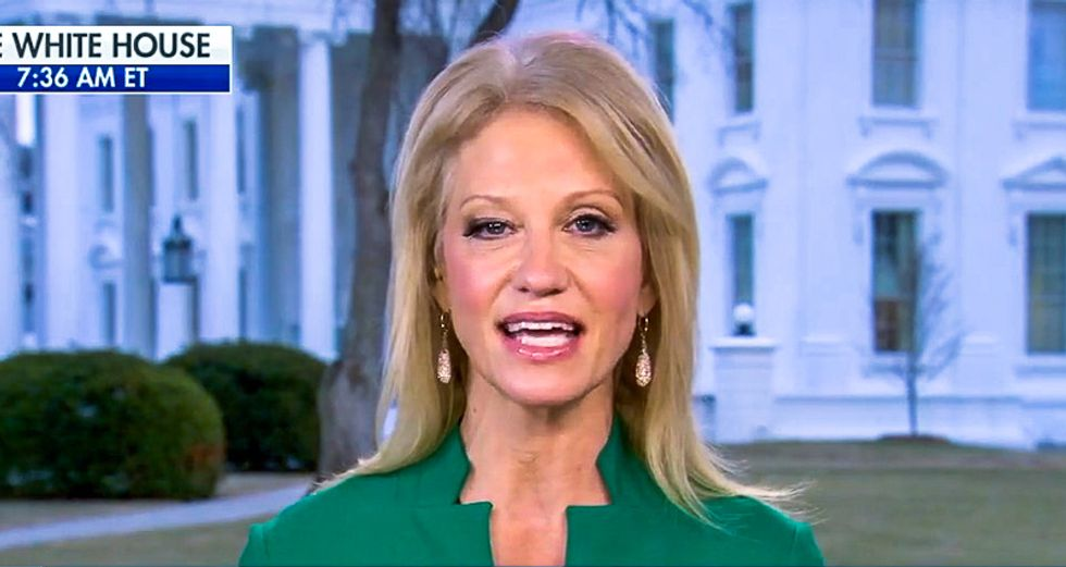 Kellyanne Conway uses Super Bowl to trash Hillary: 'The Patriots are like that woman whose name I don't mention'
