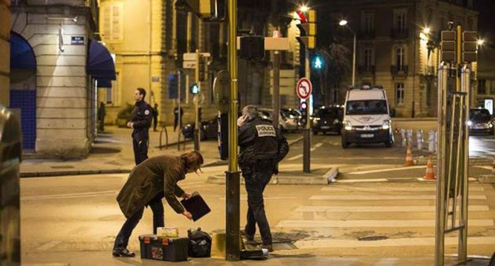 Driver ploughs into crowd injuring 11 in France's second 'Allahu Akbar' attack
