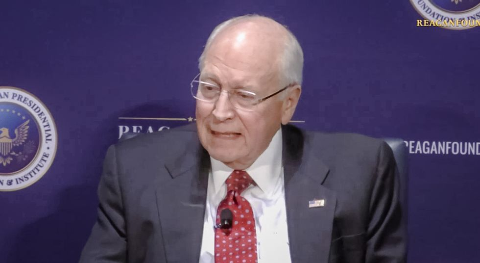 Dick Cheney tells CNN reporter: Trump's Twitter account means 'we don't need you guys anymore'
