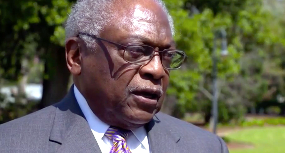 'Leave or be impeached': Longtime House member James Clyburn warns Trump that hearings would make the public turn on him