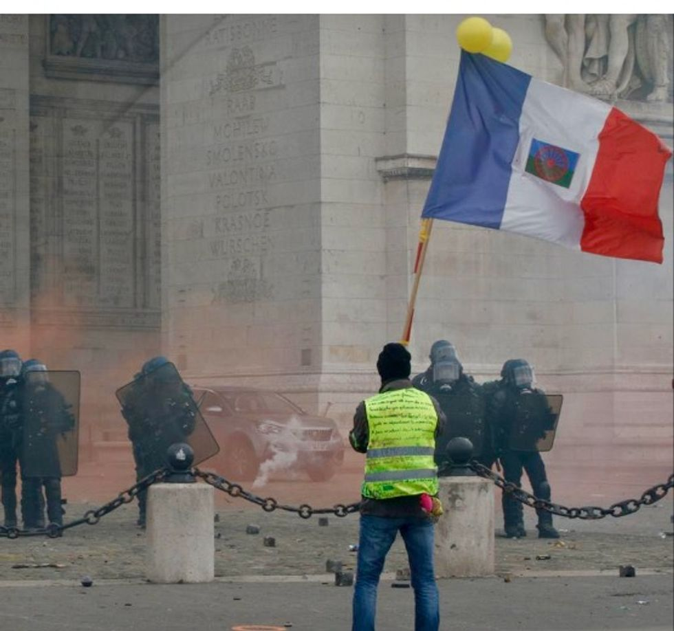 Five takeaways from a year of French yellow vest protests
