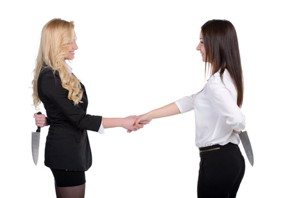 Are women inherently less trustworthy than men? (Answer: No, but people believe it.)