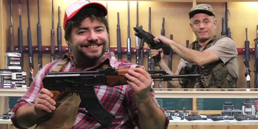 Pistol Healing Emporium: 'We're gun-licensed therapists and our customers are insane'