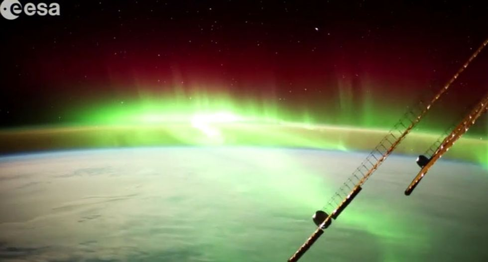 Watch this stunningly beautiful ultra HD time-lapse video from the International Space Station