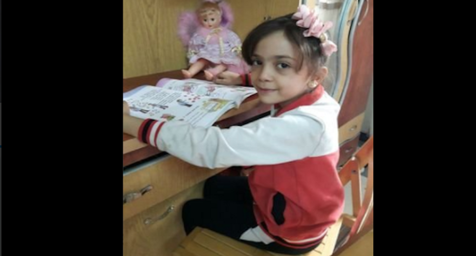 Young girl who tweeted from Aleppo asks Trump to help Syrian children