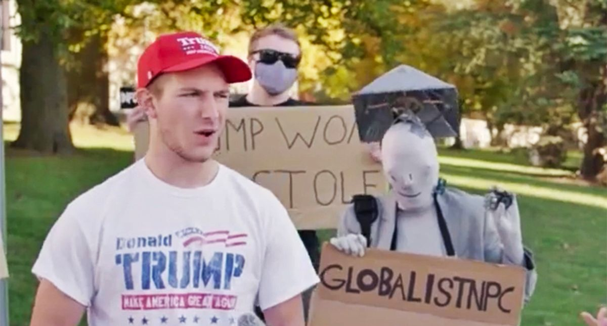 Trump supporters melt down after poll shows half the country thinks he's a failed president