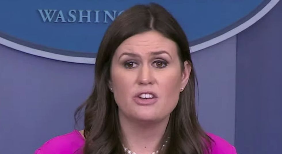 'It's because you're terrible': Internet ridicules Sarah Sanders for sniveling about restaurant ejection