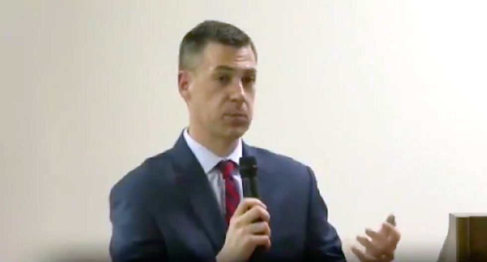'You blatantly lie': Indiana voters call 'bullsh*t' on GOP lawmaker for defending Trump on wall and taxes