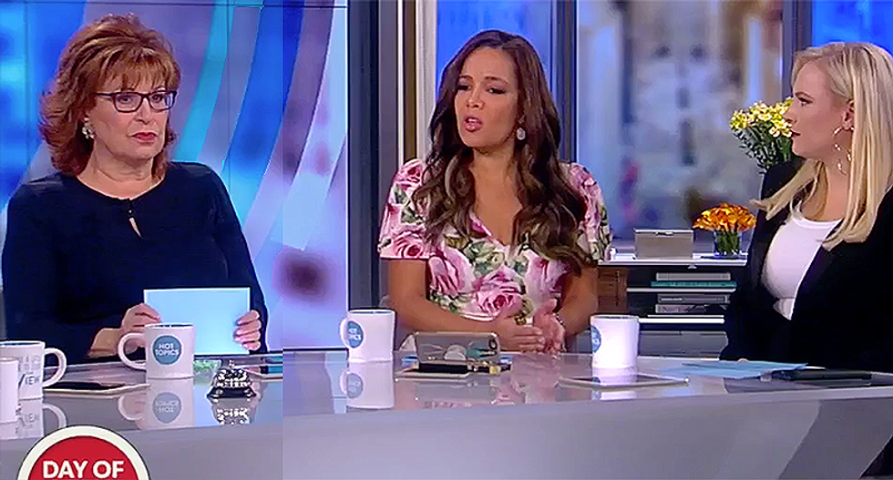 'The View' hosts obliterate Trump-loving evangelicals for driving themselves into irrelevancy with moral hypocrisy